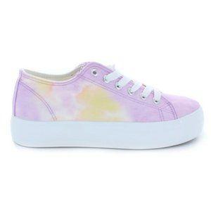 Restricted Velma Lilac Tie Dye Sneaker NWOT Size 9